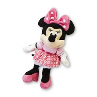 Disney Baby Minnie Mouse Infant's Plush Bell Rattle - Baby - Baby Gear - Baby Toys