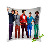 One Direction Happy Fun Square Pillow Cover