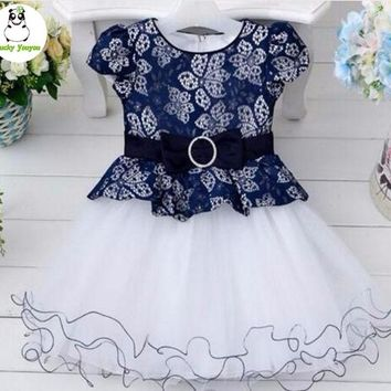 Halloween 2017 New Special Offer Child Little Kids Dress Princess Flower Baby Toddler Girls' Disguises Dresses For Clothes 3