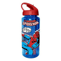 Spider-Man Web Slinger Plastic Water Bottle - Silver Buffalo - Spider-Man - Water Bottles at Entertainment Earth