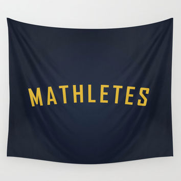 Mathletes - Mean Girls movie Wall Tapestry by AllieR