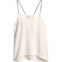 H&M Top with thin shoulder straps