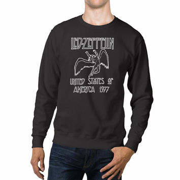 Led Zeppelin America Tour Unisex Sweaters - 54R Sweater