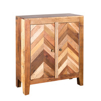 Kendrick 2-Door Cabinet in Mixed Wood (India) | Overstock.com Shopping - The Best Deals on Coffee, Sofa & End Tables