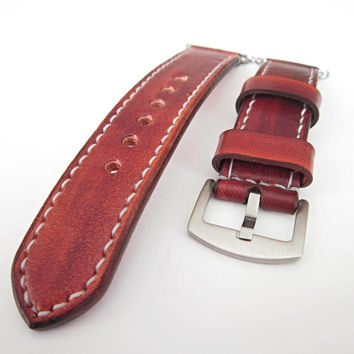 Brown Apple watch strap, watch strap, leather watch strap, apple strap 38mm, apple watch band 38mm