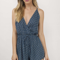 Some Days Surplice Romper