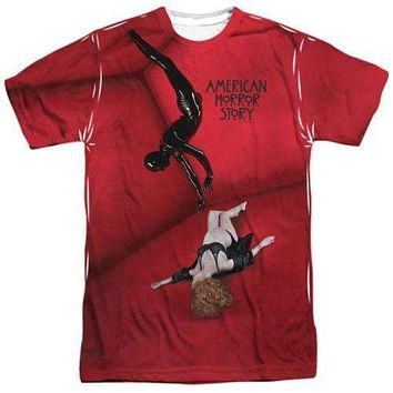 Mens American Horror Story Vivien & The Rubber Man Sublimation T-Shirt