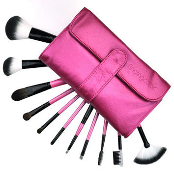 11-pcs Red Hot Sale Luxury Make-up Brush = 4831000324