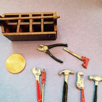 Doll house tool set