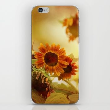 Autumn Blessings iPhone & iPod Skin by Theresa Campbell D'August Art