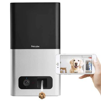 Petcube Bites Wi-Fi Pet Camera with Treat Dispenser