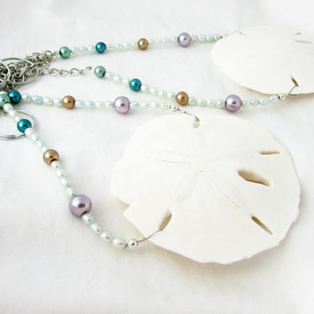 Sand Dollar Curtain Tiebacks, Beach Home Decor, Ocean Theme Curtain Tiebacks