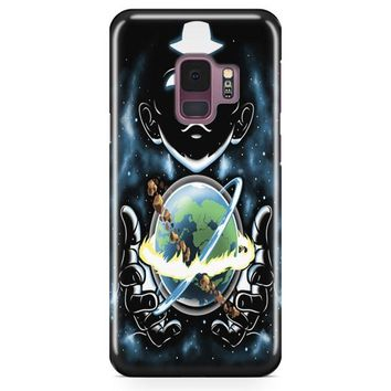 Aang Holding The World Samsung Galaxy S9 Plus Case | Casefantasy
