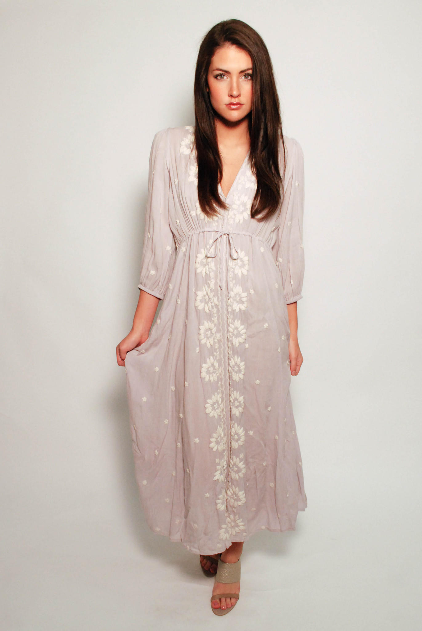 06b99ff44dbe Free People Azalea Maxi Dress - Dove Grey from Shop Masons