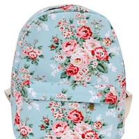 Mooncolour Sweet Rose Carvas Backpack:Amazon:Clothing
