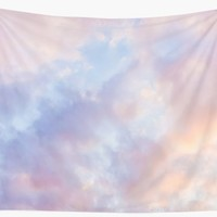 'Pink sky' Wall Tapestry by GrandeDuc