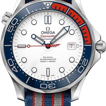 Omega Seamaster Commander's Watch, James Bond 007 Limited Edition 212.32.41.20.04.001