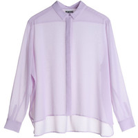 Mtwtfss Weekday Peak Blouse Purple
