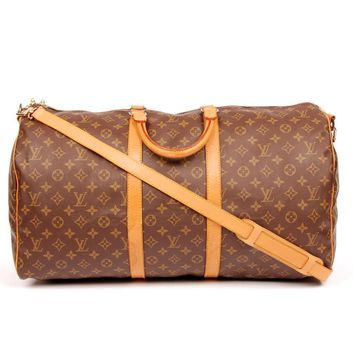 Louis Vuitton Keepall 55 Weekend/Travel Bag 5525 (Authentic Pre-owned)