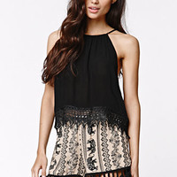 LA Hearts Crochet Hem Goddess Tank at PacSun.com
