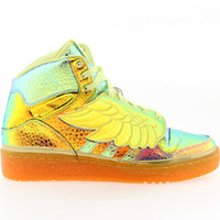 Adidas ObyO JS Wings Foil - Jeremy Scott (gold / metgol / peacit) Shoes D65203 | PickYourShoes.com