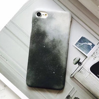 Black Galaxy Case For iPhone