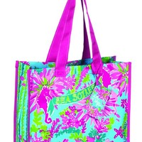Lilly Pulitzer Market Tote - Trippin and Sippin