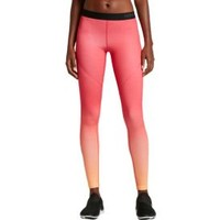 Nike Women's Pro Hyperwarm Fade Printed Tights| DICK'S Sporting Goods