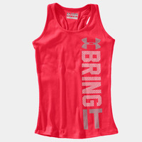 Girls' UA Bring It Graphic Tank | 1237565 | Under Armour US