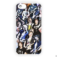 Luke Hemmings 5Sos Collage Performing For iPhone 5 / 5S / 5C Case