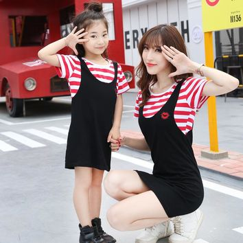 Mother Daughter Dress Matching Mother Daughter Clothes Family Clothing Mommy and me clothes mum and daughter Vestidos Family