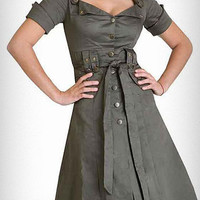 Femme Arsenal Military Dress | PLASTICLAND