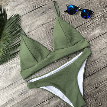 Swimsuit New Arrival Hot Summer Sexy Beach Ladies Swimwear Knit Bikini [11616511759]