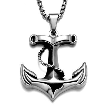 Anchor Necklace for Men