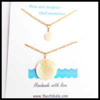 Mother and Daughter necklace set (Socal beach collection)