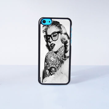 Marilyn Monroe Plastic Case Cover for Apple iPhone 5C 6 Plus 6 5S 5 4 4s