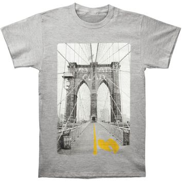 Wu Tang Clan Men's  Bridge T-shirt Heather