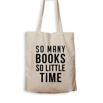 ac NOVO So Many Books, So Little Time - Tote Bag