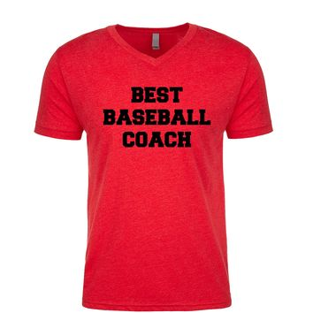 Best Baseball Coach  Men's V Neck