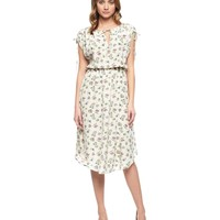 Washed Silk Desert Floral Dress by Juicy Couture