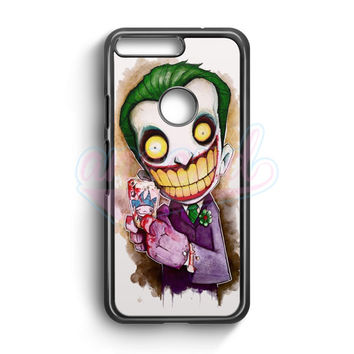 Joker Cartoon Google Pixel Case | aneend.com