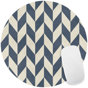 Sailor Chevron Mouse Pad Decal