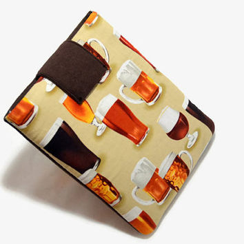 Hand Crafted Tablet Case from Beer Fabric / Case for iPad, iPad Mini, Kindle Fire HD, Samsung Galaxy HD