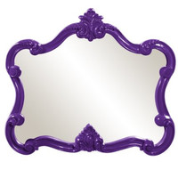 HOWARD ELLIOTT Veruca Glossy Purple Mirror