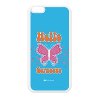Sassy - Hello Gorgeous 10433 White Silicon Rubber Case for iPhone 6 Plus by Sassy Slang