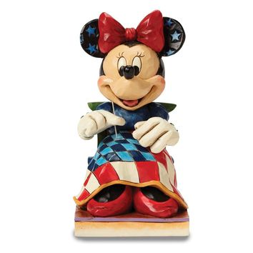 Disney Traditions Americana Minnie Figurine