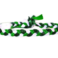 St. Patrick's Day Braided Headband