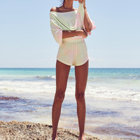 BDG Boardwalk Terry Off-The-Shoulder Two-Piece Set | Urban Outfitters