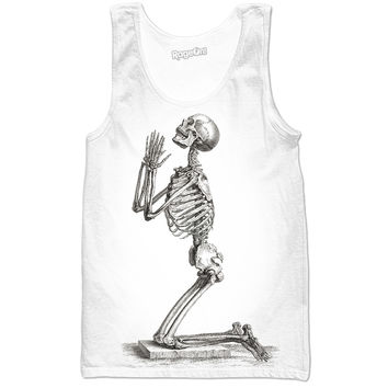Praying Skeleton Tank