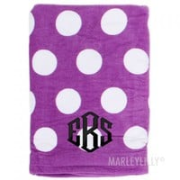 Personalized Beach Towels | Marleylilly